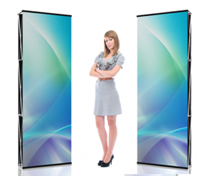Double-Sided Graphic Panels