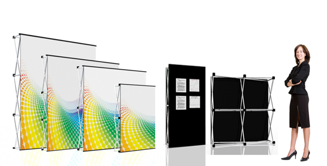 Platinum Pop-Up Stands
