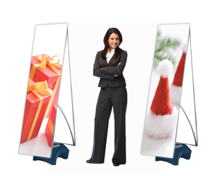 Polar Outdoor Banner Stand
